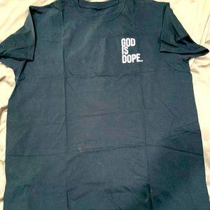 Men's God is Dope Tee